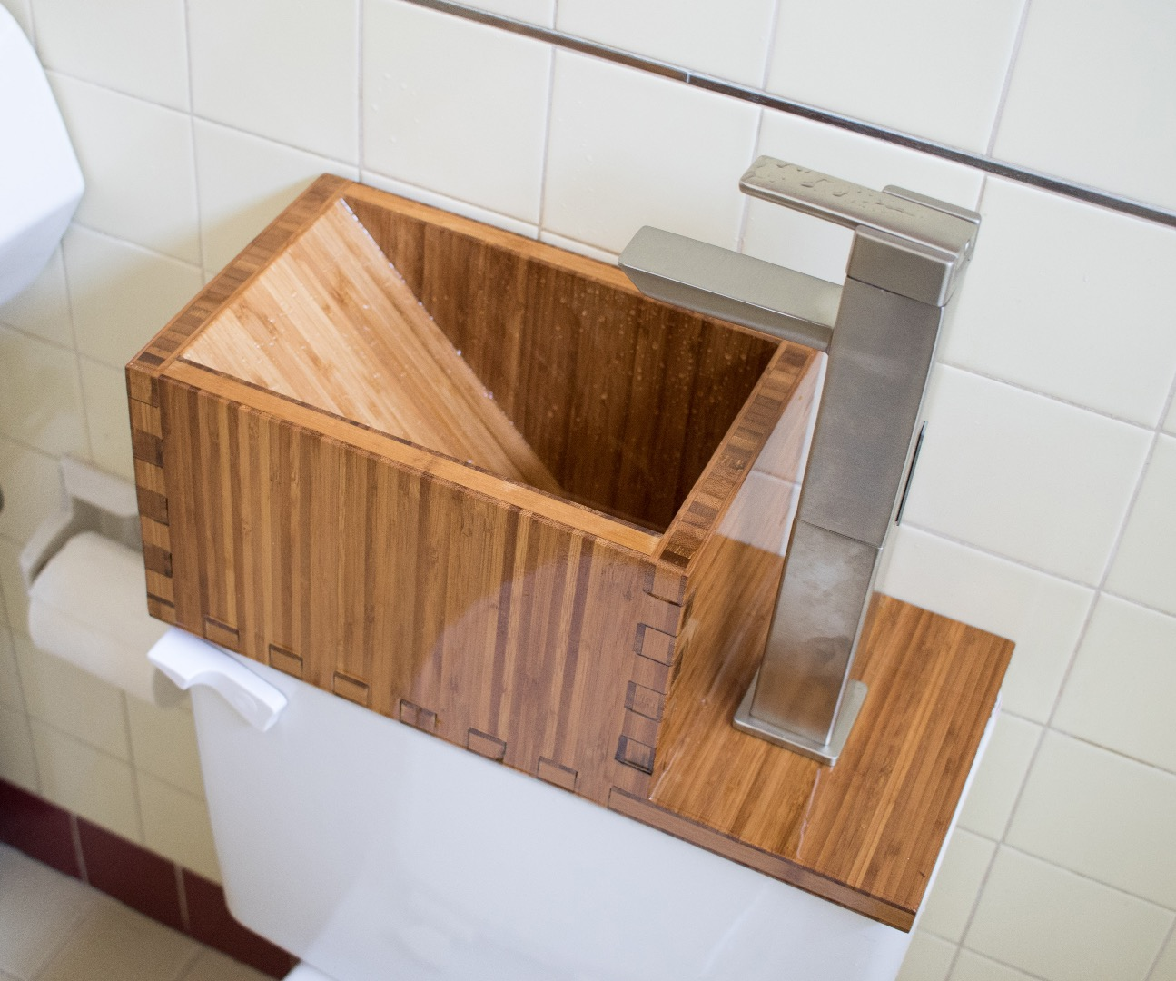 Picture of Toilet Top Sink