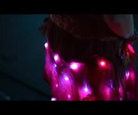 Hack Disney's Made With Magic Products to Power a LED Skirt