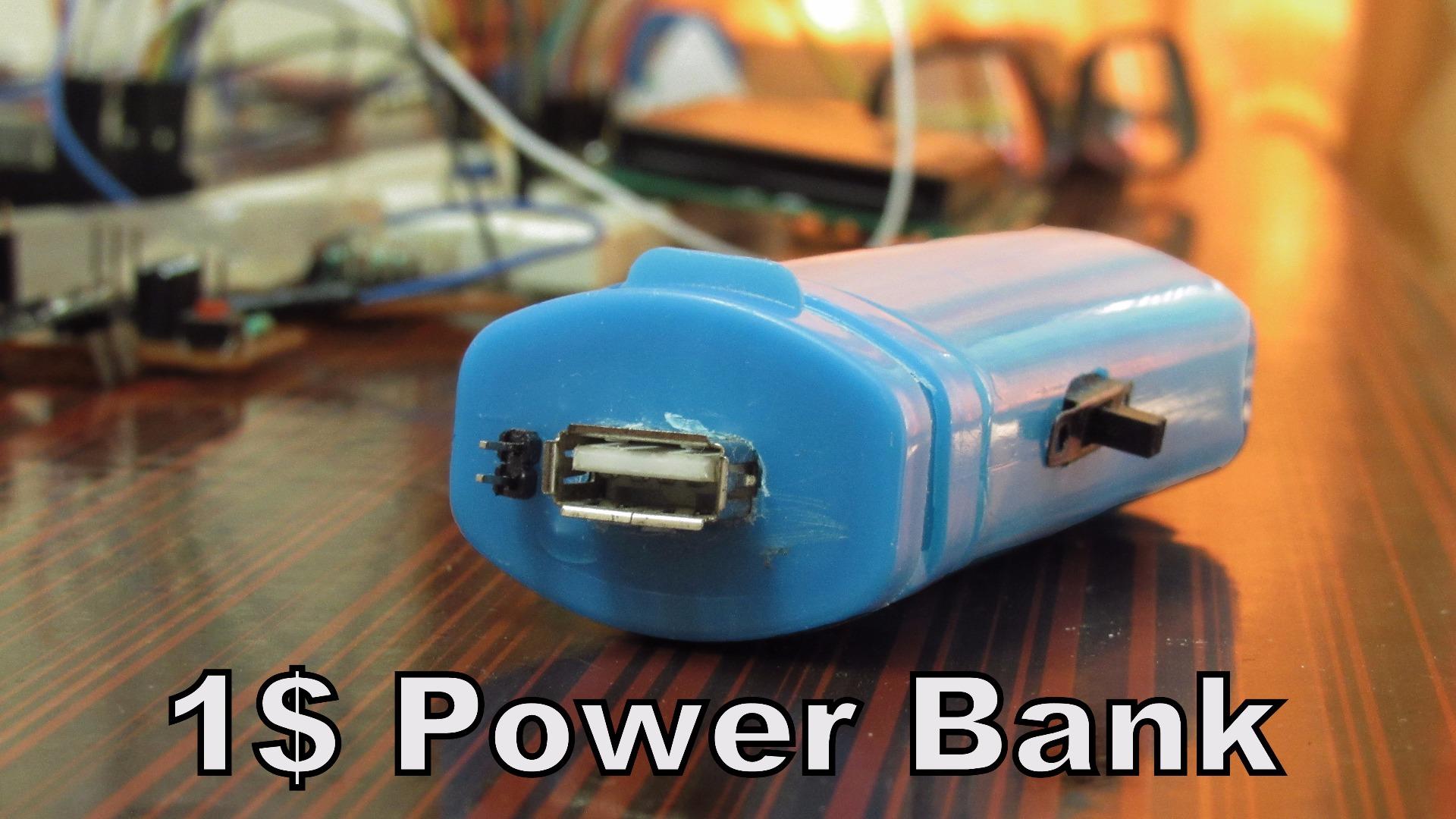 Picture of Powerduino - 1$ Powerbank
