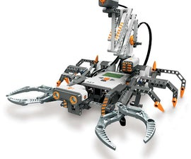 My Lego Mindstorms NXT 2.0 Scorpion