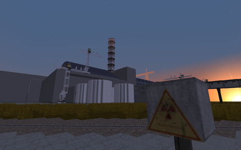 Chernobyl Nuclear Power Plant Minecraft