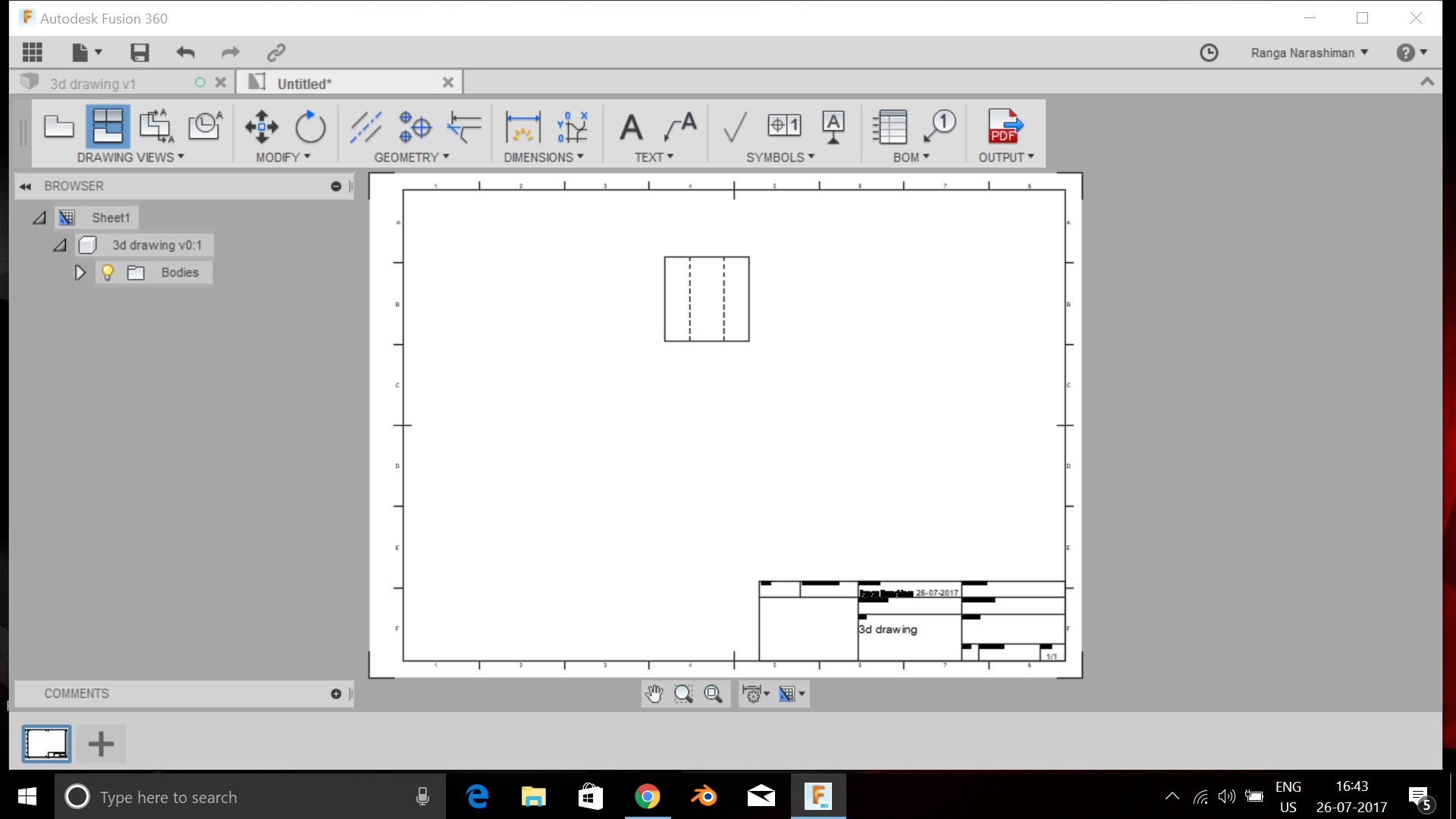 Picture of Creating of the Engineering Drawings