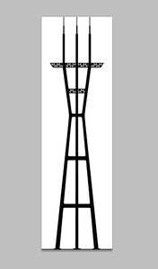 Prepare a Vector Image of Sutro Tower