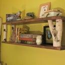 Simple Birch Limb Wall Shelf