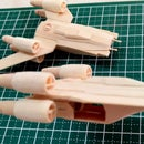 Rogue One Mini U-Wing Popsicle Stick Model
