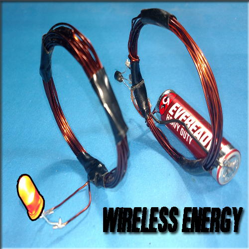 Picture of Wireless Energy Transfer System   LED Circuit   Electric Coil   DIY   Cool Projects