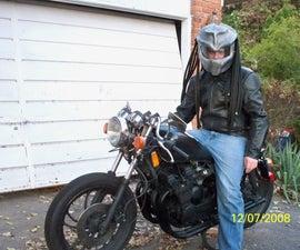 PREDATOR MOTORCYCLE HELMET COVER