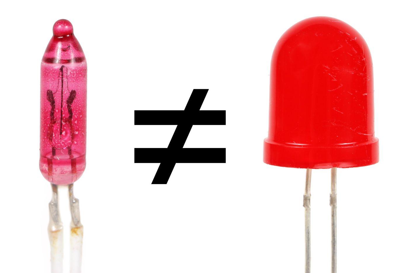 Light Bulbs Vs. LEDs