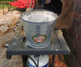 Metal Bucket Forge