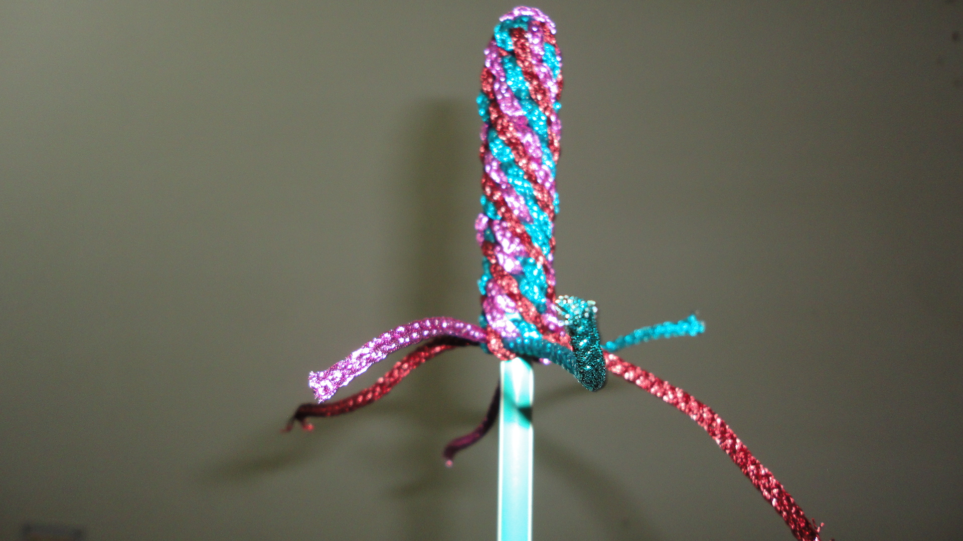 Picture of Insert Pencil and Work Up More Knots...