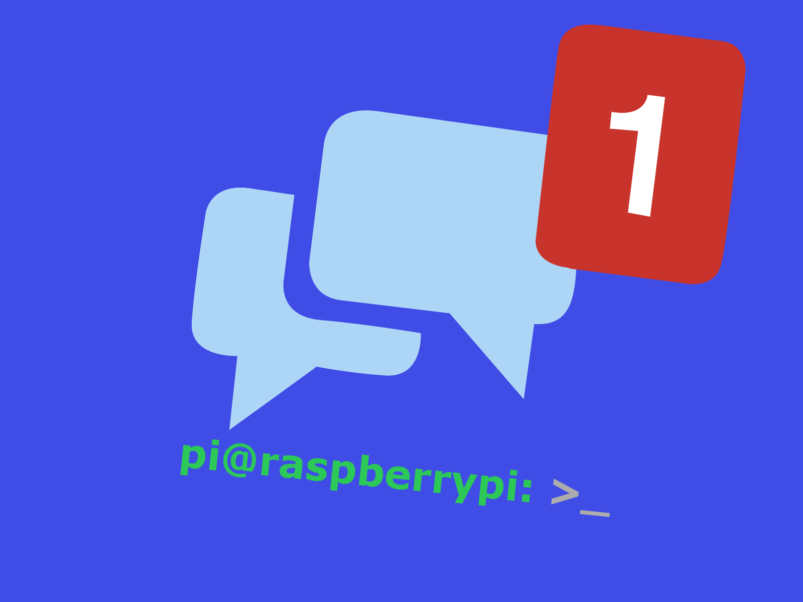 Picture of Use Facebook As a Raspberry Pi Terminal
