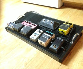 DIY Powered Pedal Board with Input Jacks