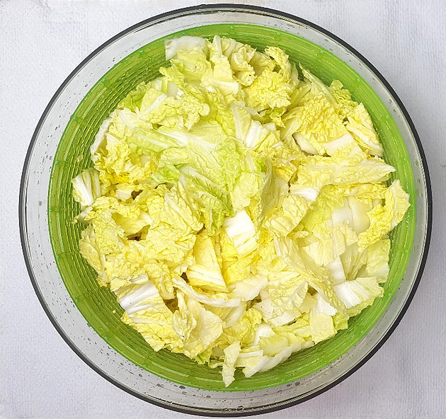 Picture of Wash & Chop Cabbage