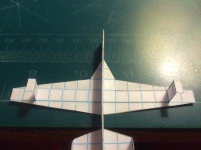 Applying the Wings; Stapling