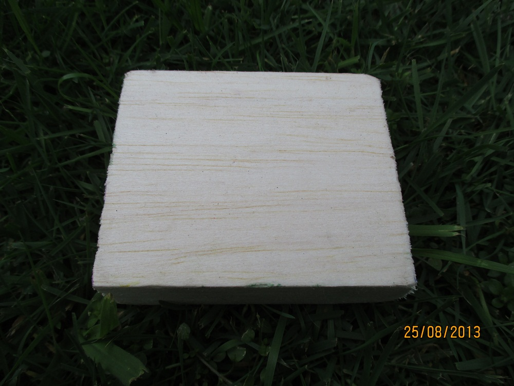 Picture of Cut Out a Piece of Wood
