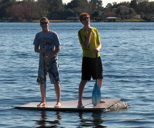 Project RRaft - Building a Raft Out of Water Bottles