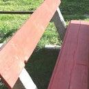 Garden Concrete Bench