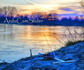 ArduCamSlider: a motorized slider for DSLR camera