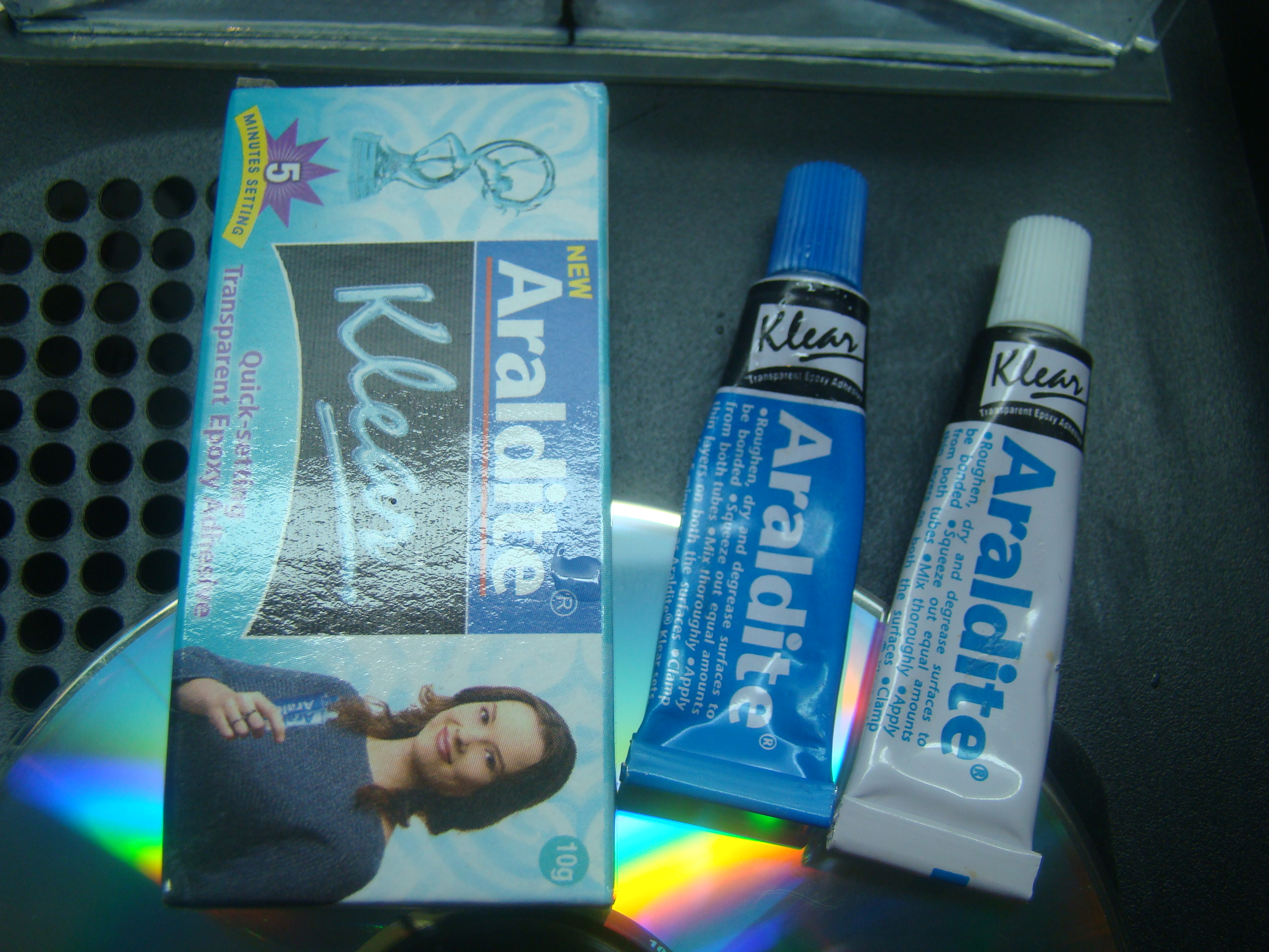 Picture of  the Adhesives You Can Use.