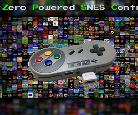 Raspberry Pi powered SNES Controller