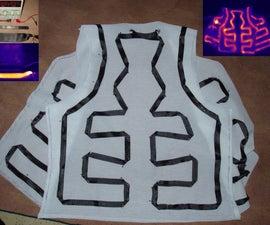 DIY carbon tape heated vest