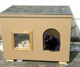 Cat House for those chilly nights