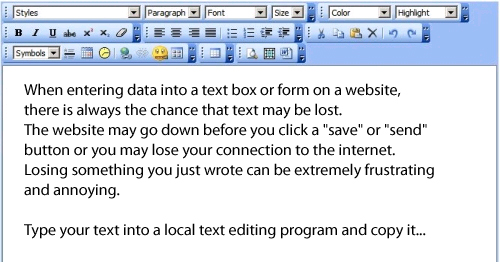 Picture of How to Deal With Web Forms and Online Systems