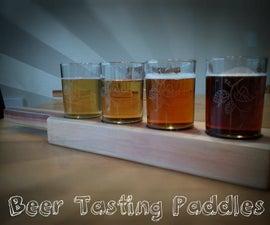 Beer Tasting Paddles