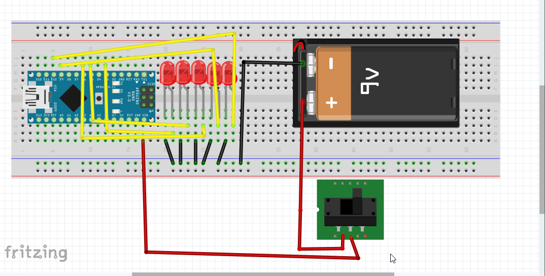Picture of Attaching the Arduino and Soldering the Led With Jumpers