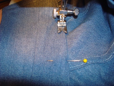 Attaching the Collar to the Shirt