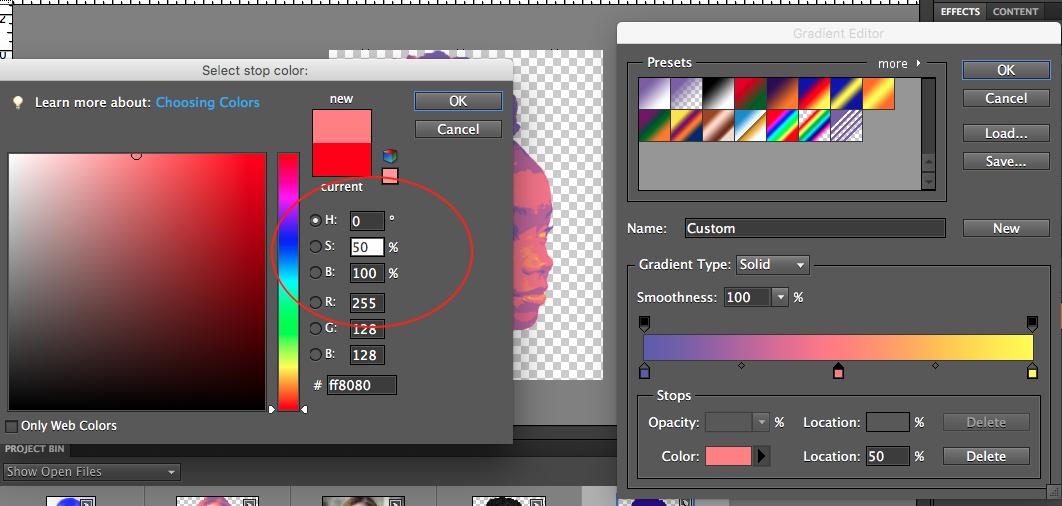 Picture of Choose Color Palette
