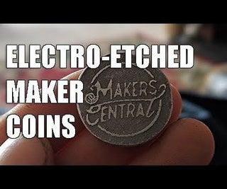 Electro-etching Aluminium