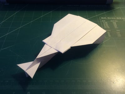 How to Make the StratoHunter Paper Airplane