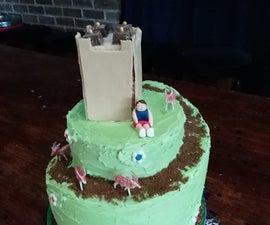 Spiral/Winding Road Cake