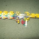 triple barrelled knex gun