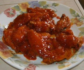 Chicken Wings Without the Deep-Fry, Method 1 of 2