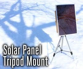Solar Panel Tripod Mount