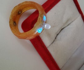 Light Up LED Engangement Ring