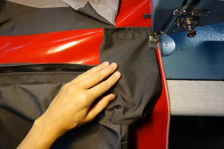 Lower Side Pouches: Attach