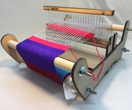 DIY Laser Cut Rigid Heddle Loom - Part 2: Weaving With the Rigid Heddle Loom