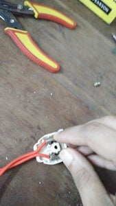 Similarly Connect the Other End of the Wires to the Female Connector.