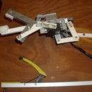 Bend metal to construct servo & motor brackets, for robotics