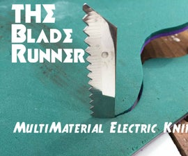 The Blade Runner Multi-material Electric Knife