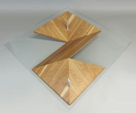 Modern coffee table - Origami
