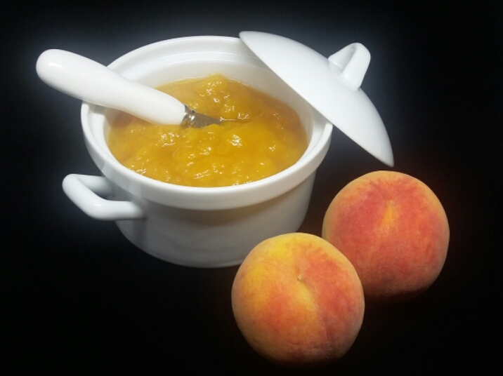 Picture of Three Ingredient Easy Peach Jam