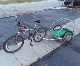 Bike cargo trailer DIY