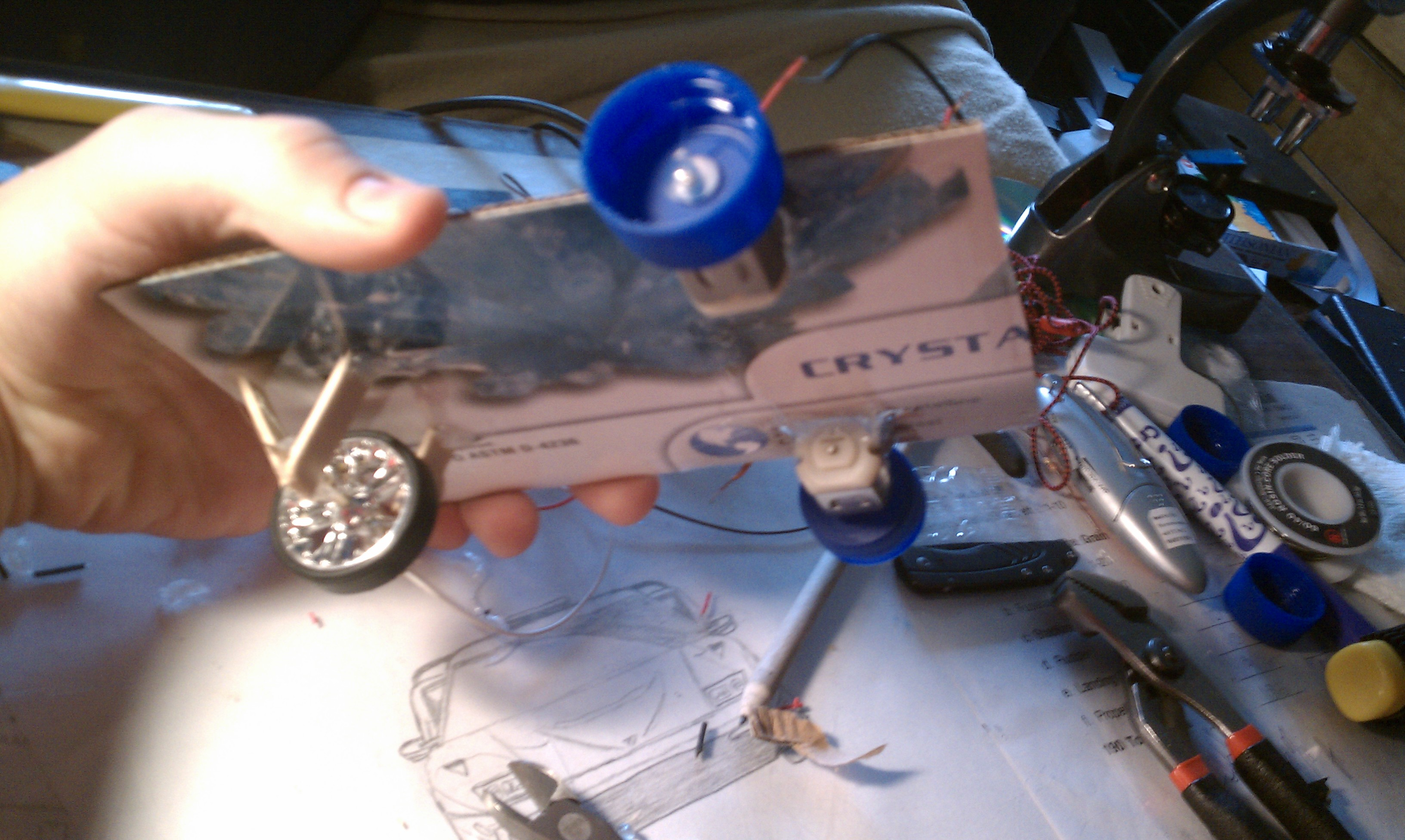 Picture of Attach the Front Wheel to the Base