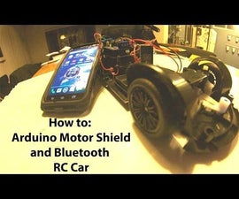 Another Arduino Remote Control Car Controlled by Android phone using Bluetooth Module