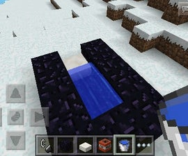 How to make a tnt cannon in minecraft pe!