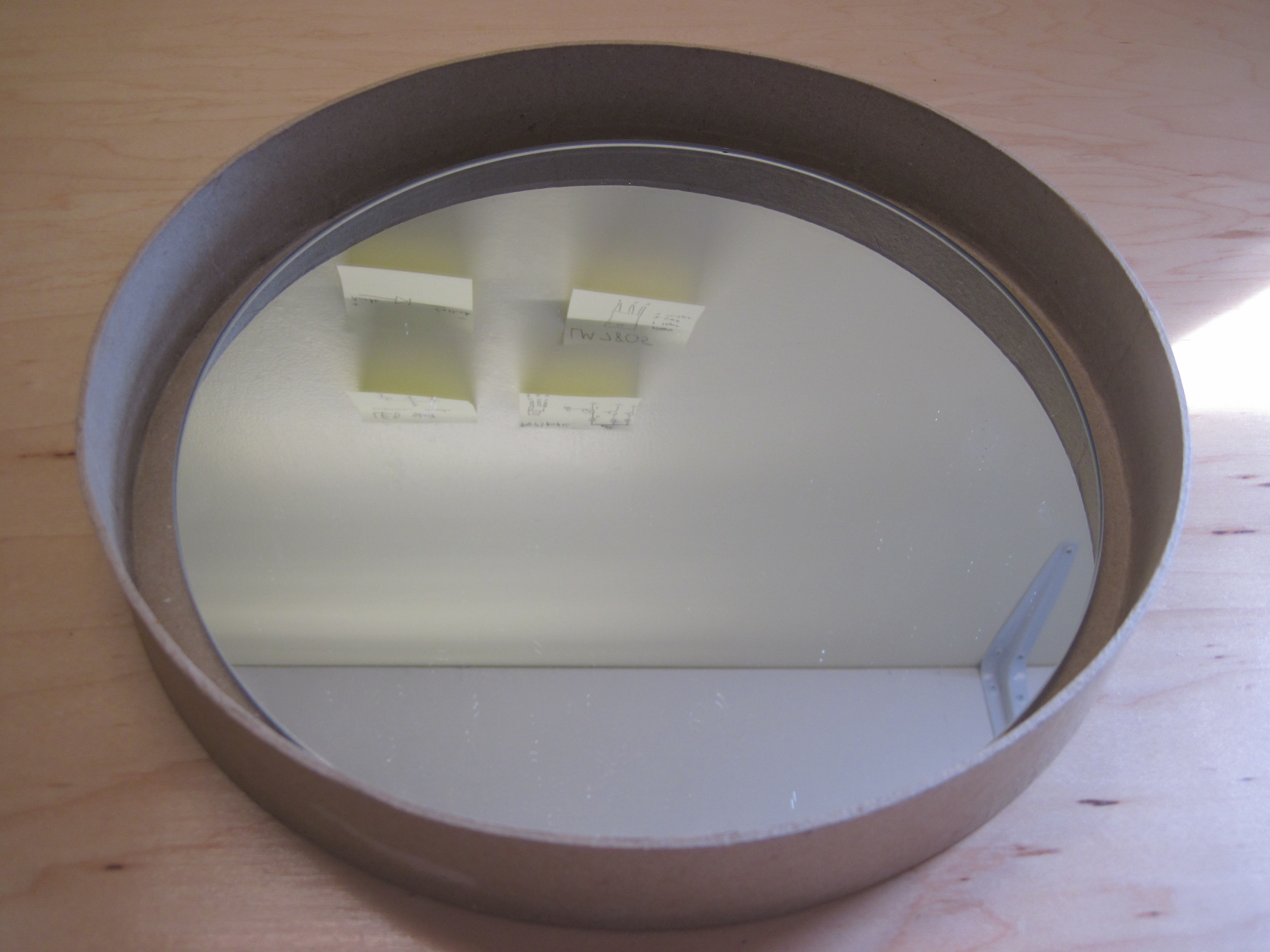 Picture of Preparing the Mirror Frame
